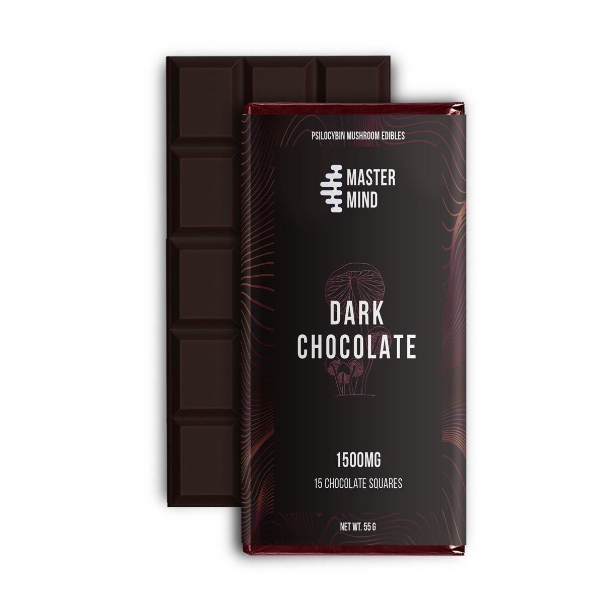 Master Mind - Dark Chocolate Bar 1500 Mg