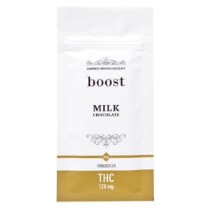 Boost THC Milk Chocolate 120mg